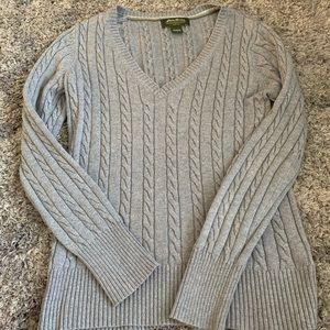Eddie Bauer Knitted V-Neck Sweater